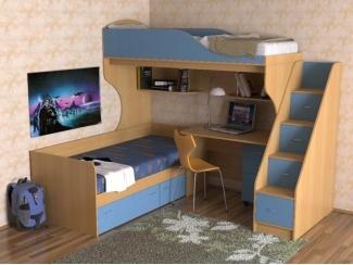Детская мебель  Фрегат 6  ЛДСП - Мебельная фабрика «Лига Плюс», г. Волжск
