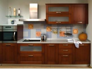 Кухонный гарнитур прямой Паола - Изготовление мебели на заказ «Атташе»