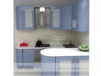 Кухня угловая с барной стойкой Арт-Модерн 7 - Мебельная фабрика «Аркадия-Мебель»