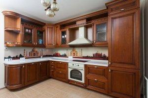 Классическая угловая кухня Малифесента - Мебельная фабрика «Триана»