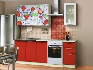 Кухонный гарнитур Фаина с фотопечатью  - Мебельная фабрика «Мебель Цивилизации»