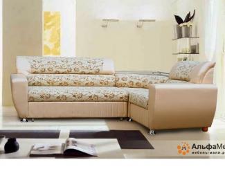 Угловой диван Альфа 257 дельфин - Мебельная фабрика «АльфаМебельПлюс»