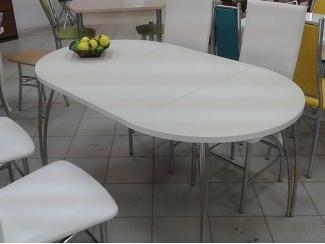 Стол обеденный круглый раздвижной СО 10 пластик