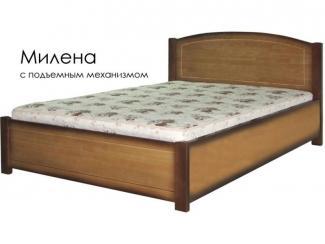 Кровать Милена с подъемным механизмом - Мебельная фабрика «Массив»