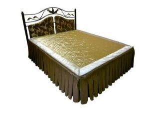 Кровать двойная металлическая Вероника-1600 - Мебельная фабрика «Металл конструкция»