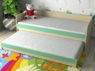 Кровать детская Дуэт 7 - Мебельная фабрика «Мезонин мебель»