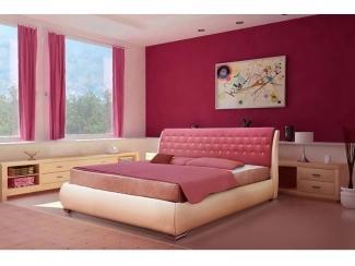 Кровать Виктория  с ортопедом - Мебельная фабрика «Диана»