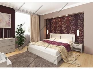 Спальня Фрия 14 с комодом - Мебельная фабрика «Эльба-Мебель»