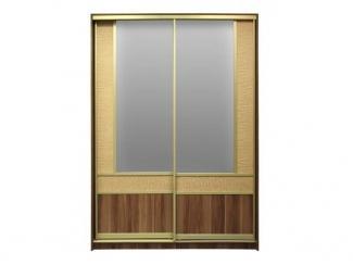 Шкаф купе комбинированный эко кожа  - Мебельная фабрика «Балтика мебель»