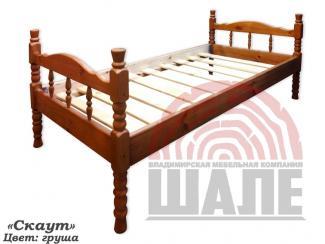 Кровать детская Скаут - Мебельная фабрика «ВМК-Шале»
