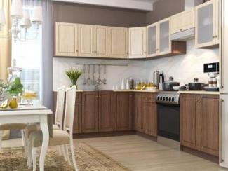 Кухня угловая Прага - Мебельная фабрика «Горизонт»