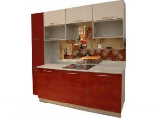 Кухонный гарнитур Цветок-Белый - Мебельная фабрика «Петербургская мебельная компания (ПМК)»