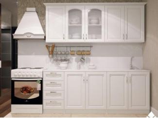 Небольшая белая кухня Трио  - Мебельная фабрика «Северин»