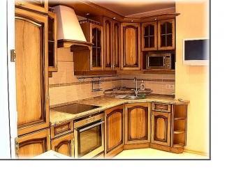 Классическая угловая кухня  - Мебельная фабрика «Мебель Парк» г. Москва