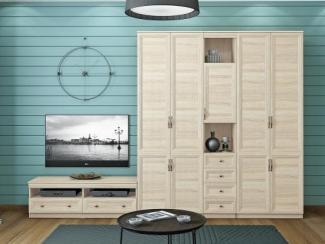 Гостиная стенка Лира 20 - Мебельная фабрика «Балтика мебель»