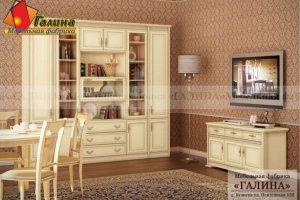 Гостиная Патина 008 - Мебельная фабрика «Галина»