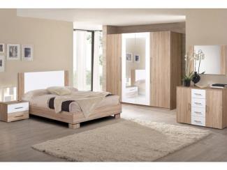 Спальня Вера 4Д-1,6 - Мебельная фабрика «Слониммебель», г. Слоним