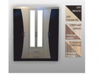 Шкаф с зеркалами и выдвижными ящиками - Мебельная фабрика «SPSМебель»