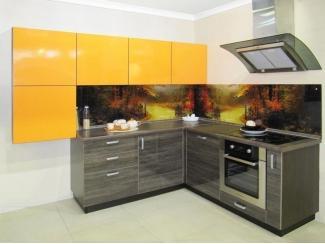 Стильная кухня Фиалка  - Мебельная фабрика «Виктория», г. Ульяновск