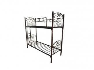 Кровать двухъярусная Нина - Мебельная фабрика «Металл конструкция»