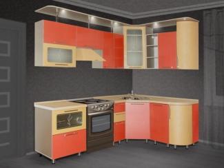 Кухня угловая Закат - Мебельная фабрика «Нильс»