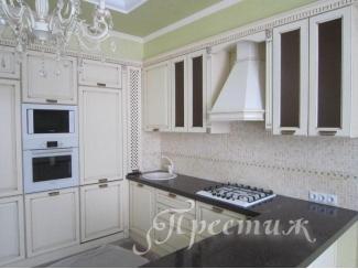 Кухня из массива дерева MALITA - Мебельная фабрика «Престиж»