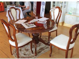 Мебельная выставка Ялта (Крым): обеденная зона - Мебельная фабрика «ИнтерДизайн»
