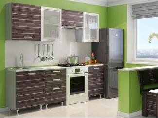 Кухня прямая Азалия комплектация 1 - Мебельная фабрика «Алсо»