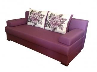 Фиолетовый прямой диван Мечта - Мебельная фабрика «Галактика», г. Москва