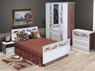 Спальный гарнитур Стелла-2 - Салон мебели «РусьМебель»