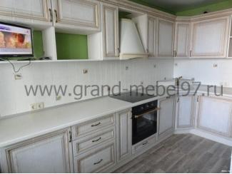 Кухня патина 04 - Мебельная фабрика «Гранд Мебель»