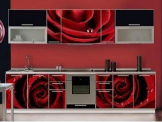 Прямая кухня Наоми с фотопечатью