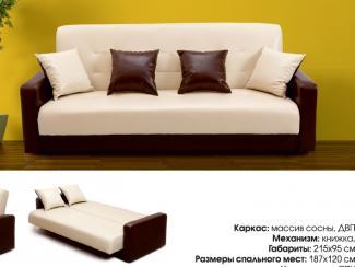 Диван прямой Аккорд - Мебельная фабрика «Луховицкая мебельная фабрика», г. Луховицы