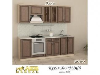 Кухня МДФ 3 - Мебельная фабрика «Лев Мебель»