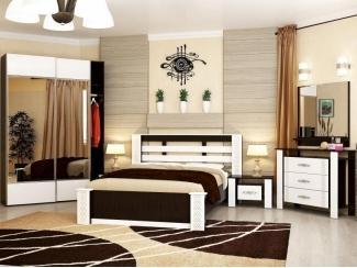 Спальный гарнитур Vivo-12 - Мебельная фабрика «Вита-мебель»