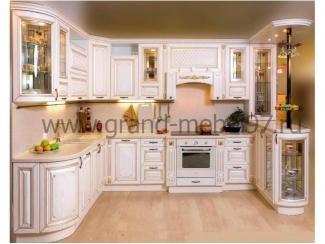 Кухня патина 07 - Мебельная фабрика «Гранд Мебель»