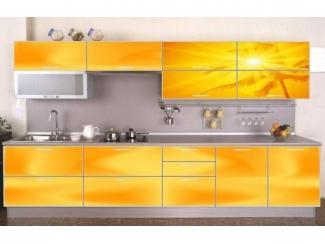 Желтая кухня Солнце  - Мебельная фабрика «Мебель России»