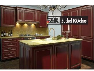 Кухонный гарнитур прямой Магдебург Рэд - Мебельная фабрика «Zuchel Kuche»