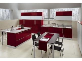 Кухня из акрила - Мебельная фабрика «Derli»
