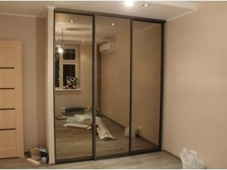 Зеркальный шкаф-купе  - Мебельная фабрика «Интерьер»