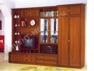 Простая стенка Марина 4  - Мебельная фабрика «Континент-мебель»