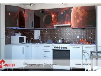 Кухня Космос МДФ фотопечать