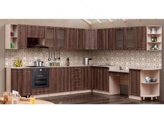 Большая кухня Гурман 6  - Мебельная фабрика «Аджио»