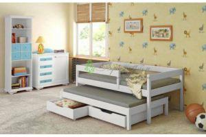 Детская кровать для двоих Мариус - Мебельная фабрика «Верба-Мебель»