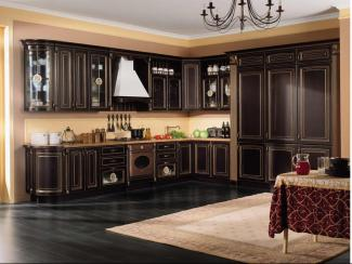 Кухня угловая Джина патина - Мебельная фабрика «Вариант М»