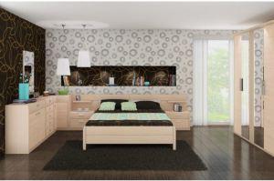 Спальный гарнитур Илона - Мебельная фабрика «Лазурит»