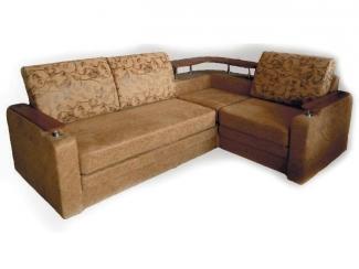 Угловой диван с полкой Престиж 1 - Мебельная фабрика «Вега»