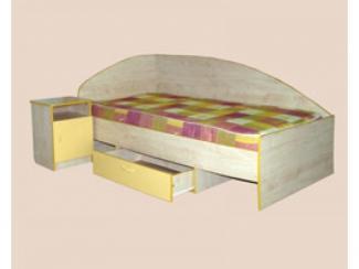 Кровать с выдвижным ящиком - Мебельная фабрика «Мартис Ком»