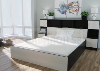 Кровать Бася с прикроватным блоком - Мебельная фабрика «Вавилон58»