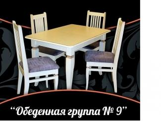 Обеденная группа 9 - Мебельная фабрика «Настоящая Мебель»